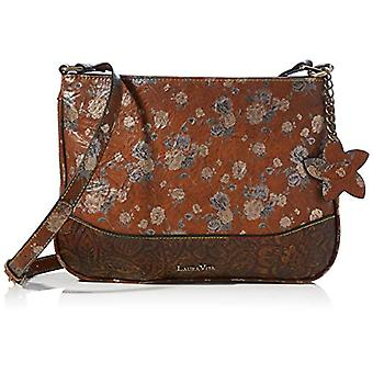 Laura Vita 3773, Cross Bag. Woman, Brown, Medium