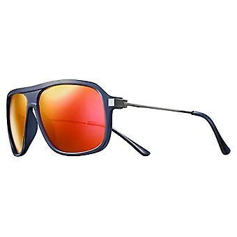 Solar Isaac Polarized Sunglasses Men's, Blue/Translucent