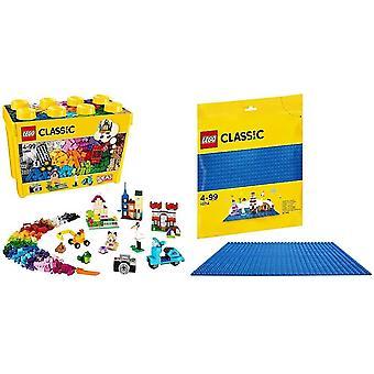 FengChun 10698 klassische große kreative Ziegel Box Bau Set, Spielzeug Lagerung, Spaß bunte Spielzeug