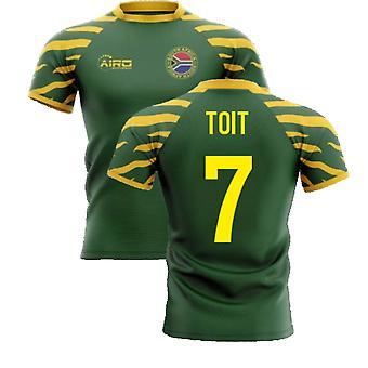 2020-2021 Etelä-Afrikka Springboks Home Concept Rugby Shirt (Toit 7)