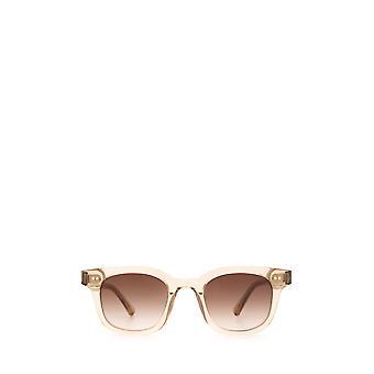 Chimi 02 ecru unisex sunglasses