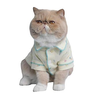 Pet cat clothes summer shirt pet clothing