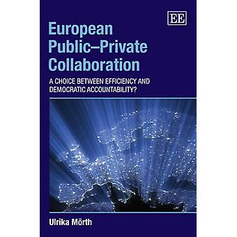 European PublicPrivate Collaboration A Choice Between Efficiency and Democratic Accountability