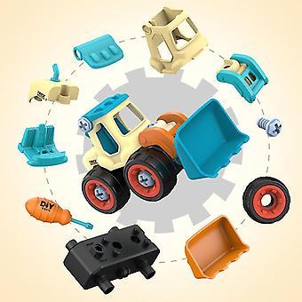 Kids Engineering شاحنة حفارة، أداة الجرافة، التعليم، نموذج السيارة