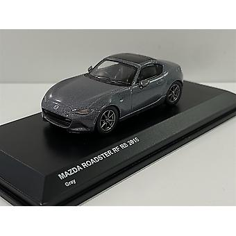 Mazda Roadster RF RS Grey 2016 1:64 Scale Kyosho 7068A4