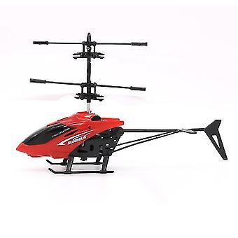 Helikopter røde barn utendørs håndsensor kontroll ledet blinkende ball helikopter fly az1315