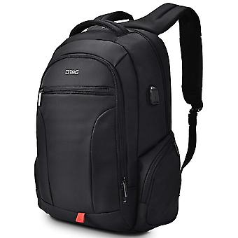Laptop Backpack 17.3 Inch,  Water Resistant Outdoor Travel Business Backpack-grey
