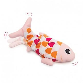 Catit Groovy Fish Orange (Cats , Toys , Plush & Feather Toys)