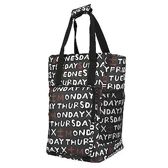 Bolso de compras impermeable gran bolso de mano de comestibles reutilizable Oxford