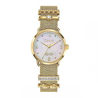 Women's Watch Clio Blue watch 6615003 - Acier Dor