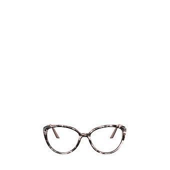 Prada PR 06WV spotted pink female eyeglasses