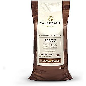Callebaut Chocolate Milk 33.6% Easi - Melt Buttons Callets 10Kg