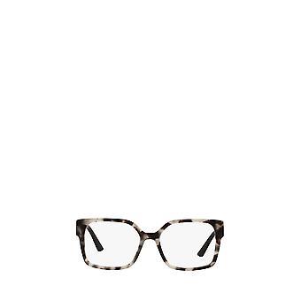 Prada PR 10WV talc tortoise female eyeglasses