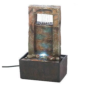 Cascading Fountains Lighted Architectural Tabletop Fountain, Pack of 1