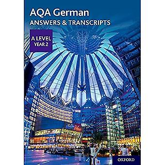 AQA A Level German: Key Stage Five: AQA A Level Year 2 German Answers & Transcripts (AQA A Level German)