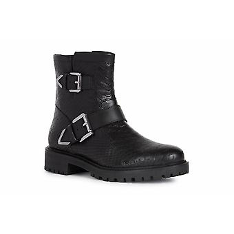 Geox Womens/Ladies Hoara Leather Ankle Boots