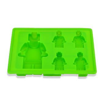 Silikon Eis Würfel Tablett Form Maker Eis Form Maker Eisform Eisform (11,5 * 17 * 2,5 cm, grün)