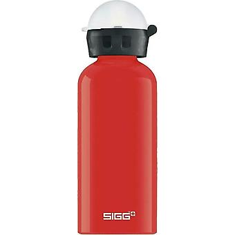 SIGG Tomato 400ml Kids Drinking Bottle Aluminium Non-Toxic Non-Spill - 8689.4