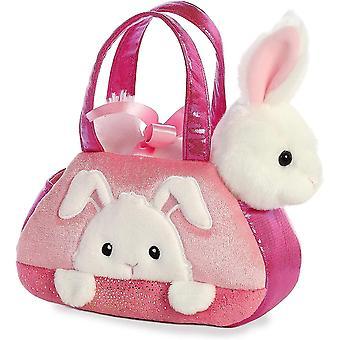 "Aurora World Inc. 7"" PEEK-A-Boo Bunny Fancy Pal Porta mascotas"
