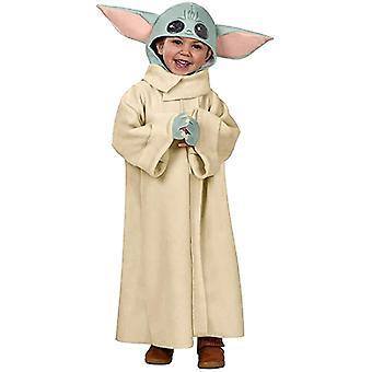 Traje de bebé Yoda, mandalorian el sombrero de abrigo de túnica infantil, traje de niño