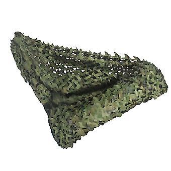 Roll Camo -verkko sotilaallisen koristelun sunshaden metsästykseen