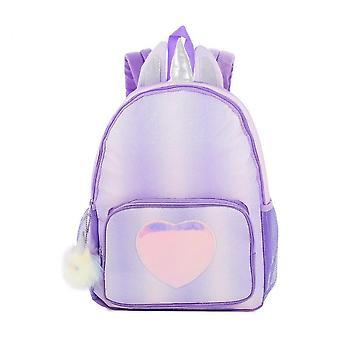 Caraele Rainbow School Bag For Girls, Unicorn Large-capacity Children's Backpack