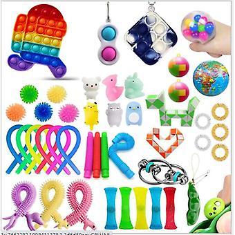 Sensory Decompression Toy Set Puzzle Diy Combination Toys -16