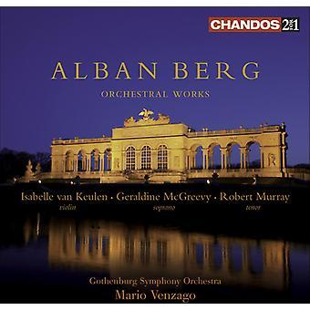 A. Berg - Alban Berg: Œuvres orchestrales [Sacd] [SACD] importation USA