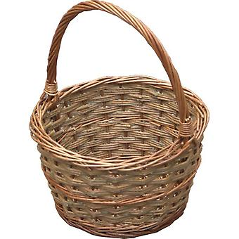 Liten rustikke Apple handle Basket
