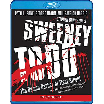 Sweeney Todd: Teuflische Barbier Fleet Street in Konzert [Blu-Ray] USA import