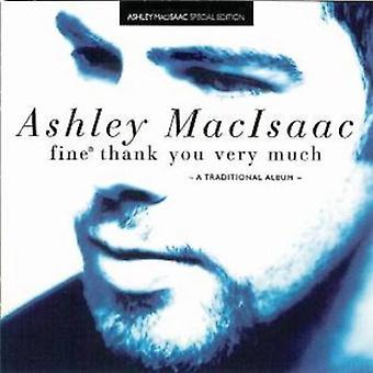 Ashley Macisaac - importation USA Fine Merci beaucoup [CD]