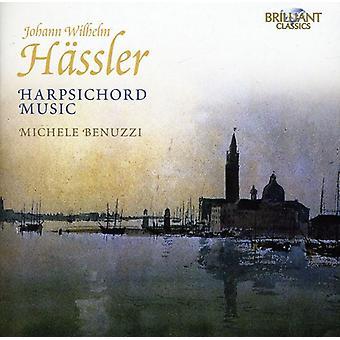 Johann Wilhelm Hassler - Johann Wilhelm H Ssler: Musique pour clavecin [CD] USA import