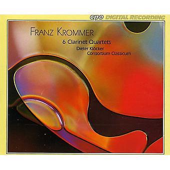 F el. Krommer - Franz Krommer: 6 cuartetos del Clarinet [CD] USA importar