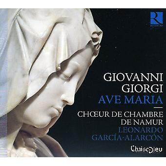 Namur Chamber Choir - Giovanni Giorgi: Ave Maria [CD] USA import