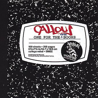 Callous - One for the Note Books [CD] USA import