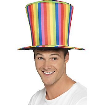 Rainbow cylinder jätten Hat gay pride Rainbow