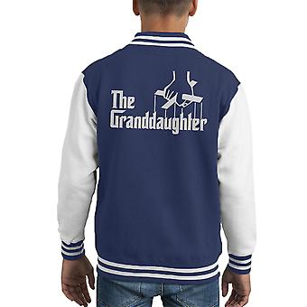 The Godfather The Granddaughter Kid's Varsity Jacket