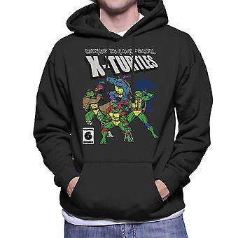 Mutants In A Half Shell X Turtles TMNT X Men Men's Hooded Sweatshirt