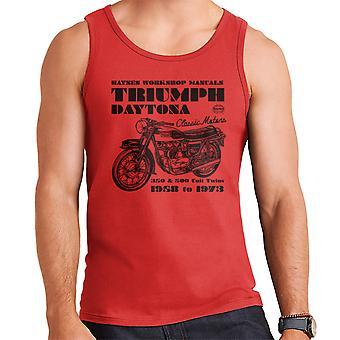 Haynes Owners Workshop Manual Triumph Daytona 350 500 mannen Vest