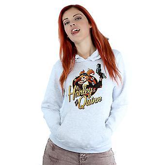DC Bombshells Harley Quinn Badge con capucha de la mujer de DC Comics