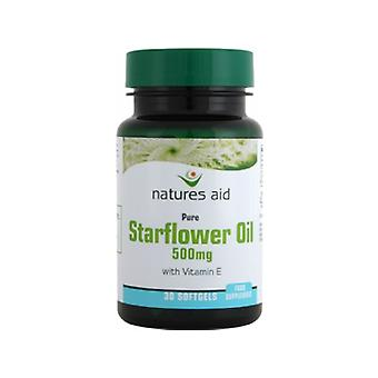 Natures Aid Starflower Oil 500mg (with Vitamin E), 90 Capsules
