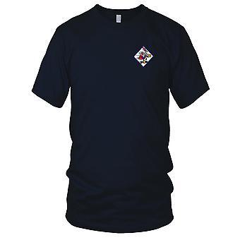 Eskadry bombardowania lotnictwa marynarki wojennej VB-14 amerykańskich czternastu haftowane Patch - koszulki męskie