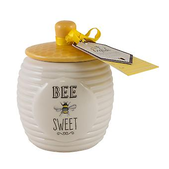 Angol Tableware Co. Bee boldog Sugar pot