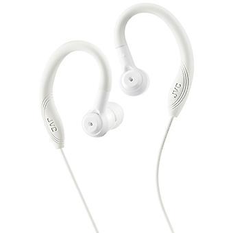 JVC Sport In Ear-koptelefoon met Over Ear Clip - White (Model nr. HAEC10W)