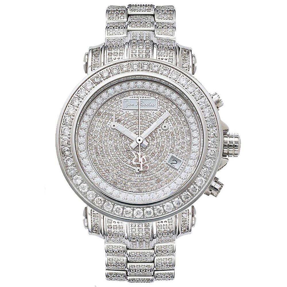 Joe Rodeo diamond men's watch - RIO silver 8 ctw