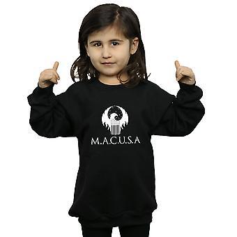 Fantastyczne zwierzęta dziewczyny MACUSA Logo Bluza
