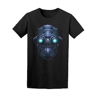 Robot rétro avec incandescent yeux Tee homme-Image de Shutterstock