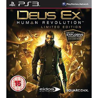 Deus Ex Human Revolution - Edição Limitada (PS3) - Novo