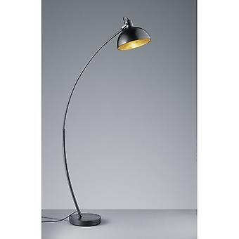 Trio Beleuchtung Recife modernen Schwarz Matt Metal Stehlampe