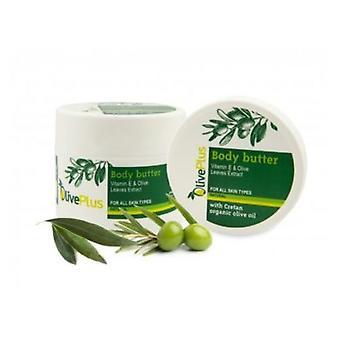 Masło do ciała z liści oliwnych wyodrębnia 200ml.